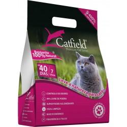 CatField Premium Litter - Pó Talco 7Lt