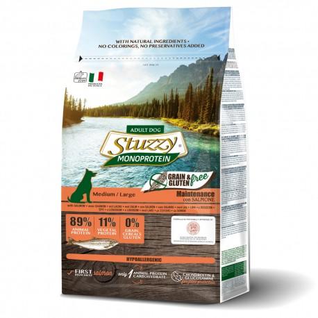 Stuzzy Grain Free SmallDog Salmão