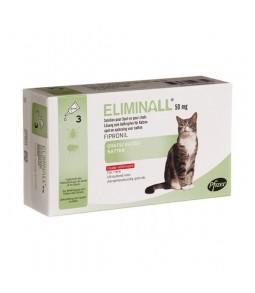 Eliminall 3 pipetas Gato