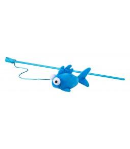 Brinquedo Stick Peixe Azul...