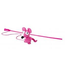 Brinquedo Stick Rato Rosa...