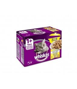 Whiskas Aves em Molho Pack...