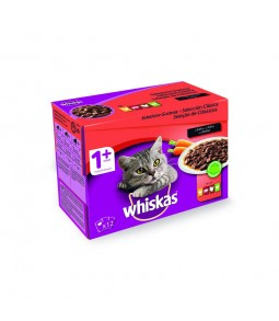 Whiskas Carne em Molho Pack...
