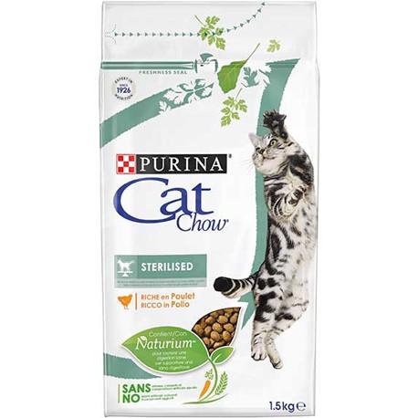 CAT CHOW  STERILISED
