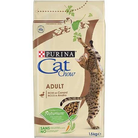 CAT CHOW ADULT COM PATO