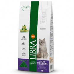LIBRA ADULT STERILIZED COM FRANGO 1,5KG