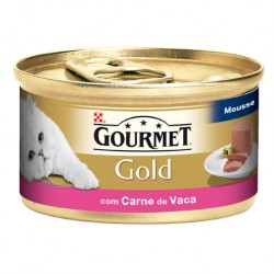 GOURMET GOLD MOUSSE COM CARNE DE VACA