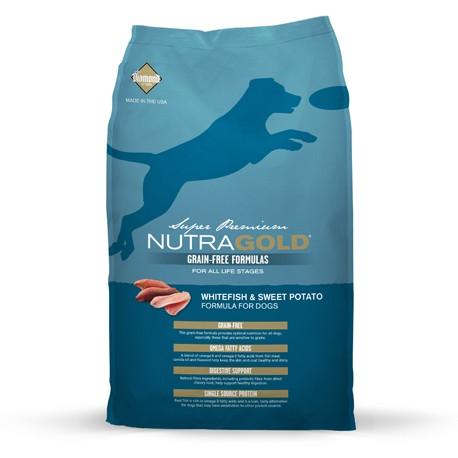 NutraGold GrainFree Peixe e Batata Doce