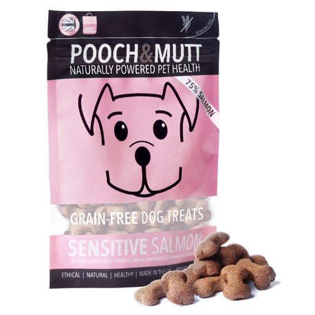 Pooch Mutt Snacks Sensitive Salmon