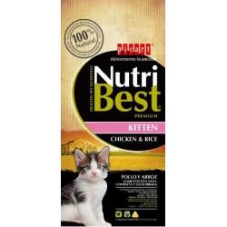NutriBest Gato Kitten Frango e Arroz