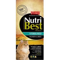 NutriBest Gato Adulto Esterilizado Salmão