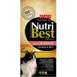NutriBest Gato Adulto Salmão