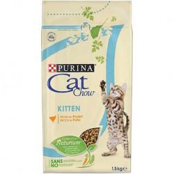 Cat Chow Kitten FRANGO 1,5Kg