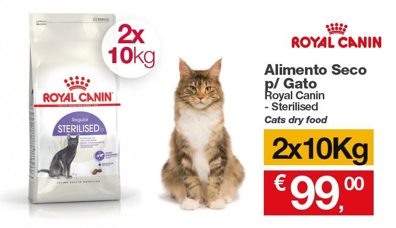 Promo Royal Canin Gato Esterilizado 2x10Kg
