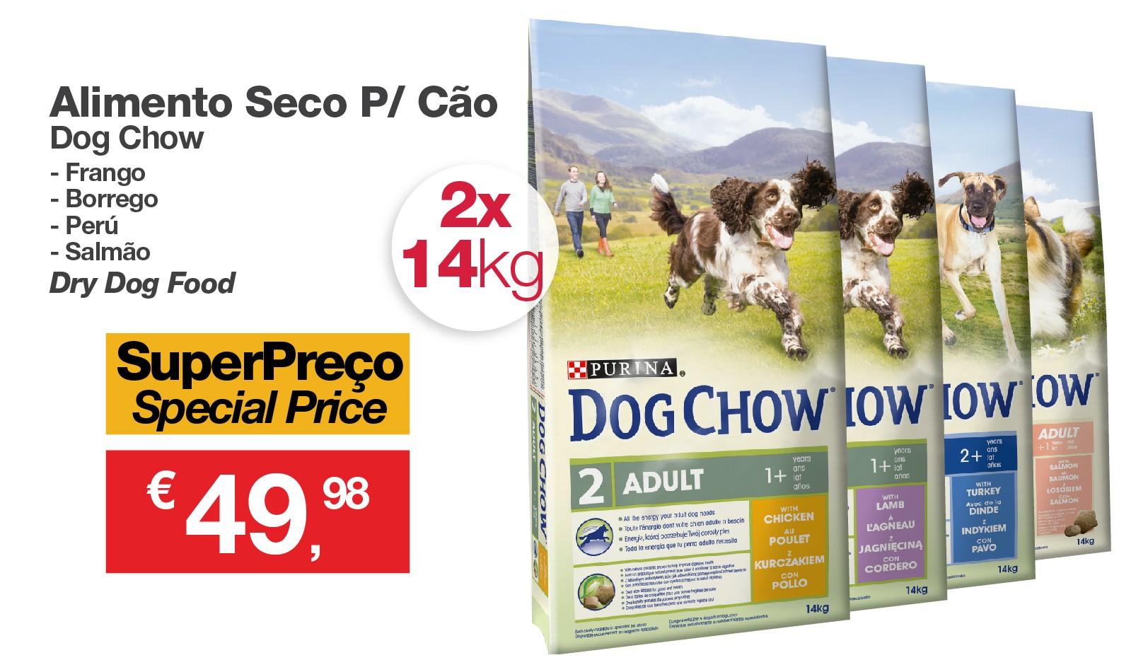 Promo DogChow Adulto 2x14Kg