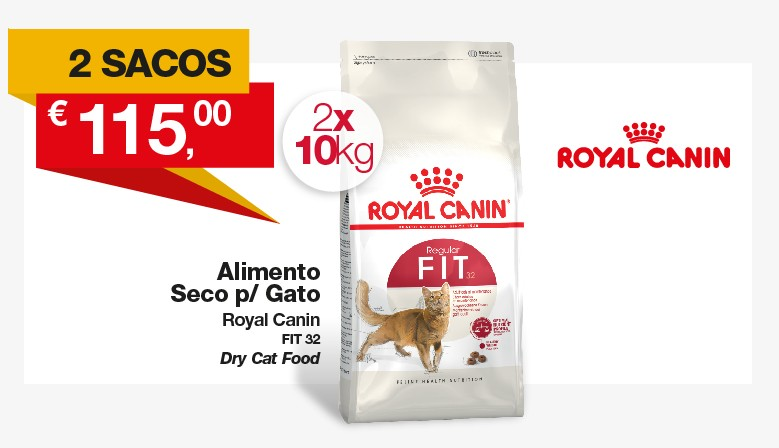 Promo Royal Canin Gato Fit32 2x10Kg